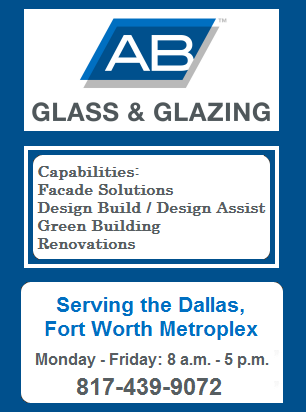 Dallas Fort Worth Glass & Mirror Installation | Residential Glass | Commercial Glass & Glazing | AB Glass & 		Glazing Haltom City Texas | Commercial Glass Company Dallas Fort Worth Texas